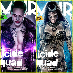 Cara Delevingne's 'Suicide Squad' Enchantress Looks So Spooky!