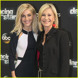 Julianne Hough & Olivia Newton-John: The Two Sandy's Meet On 'Dancing With The Stars'!