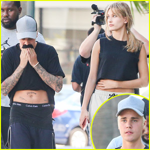 Justin Bieber Hangs Out With Hailey Baldwin After Full Frontal Photos Surface