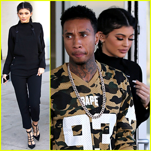 Kylie Jenner Looks Picture Perfect at Lunch with Tyga