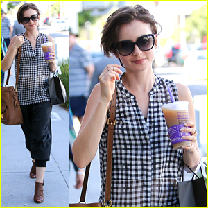 Lily Collins Challenges Fans To Take Action For Bullying Prevention Awareness Month