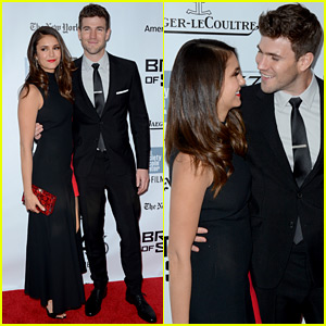Nina Dobrev & Austin Stowell Look So Happy Together at His Premiere!
