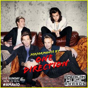 One Direction is Performing at American Music Awards 2015!