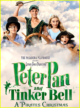 Sabrina Carpenter Takes Over The Poster for 'Peter Pan & Tinkerbell A Pirate's Christmas'