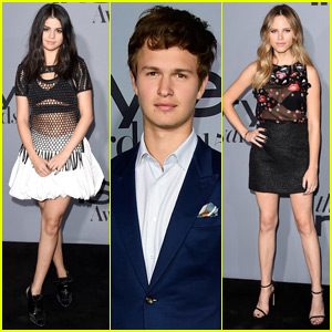Selena Gomez & Ansel Elgort Are Picture Perfect at InStyle Awards 2015