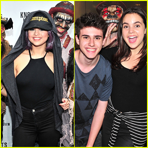 Bailee Madison Celebrates Sweet 16 Birthday At Knott's Scary Farm With Selena Gomez!