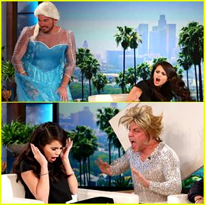 Selena Gomez Got Two Big Scares from Ellen DeGeneres! (Video)