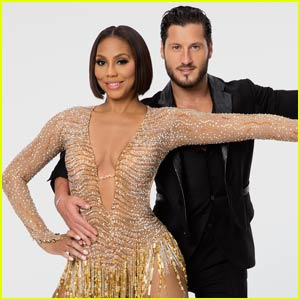 Tamar Braxton & Val Chmerkovskiy Foxtrot on 'DWTS' - Watch Now!