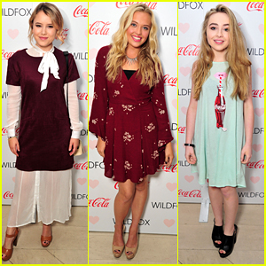 Sabrina Carpenter & Birthday Girl Taylor Spreitler Celebrate Coca-Cola & Wildfox's Fashion Collaboration
