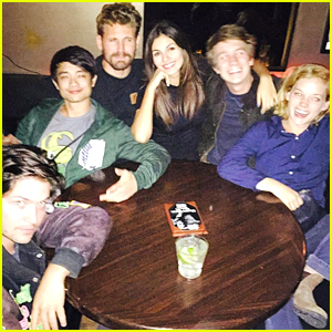 Victoria Justice Reunites With Her 'Fun Size' Cast - See The Pics!
