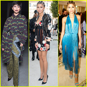 Zendaya Lays Some Magic On Paris Fashion Week With Two Hairstyles In One Day