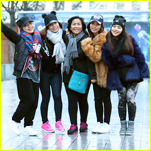 4th Impact Go Sightseeing in London With Their Mom
