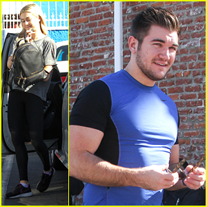 Alek Skarlatos Sends Thoughts Out To Paris After DWTS Practice