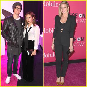Ashley Tisdale & Brittany Snow Hit Up T-Mobile's Un-carrier X Launch Event