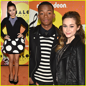 Isabela Moner & Brec Bassinger Honor Youth Community Leaders at Nickelodeon's HALO Awards 2015