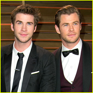 Liam Hemsworth Says His Brother Chris Paid Off Their Parents' Debt