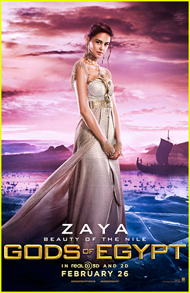 Courtney Eaton is Zaya In 'Gods Of Egypt' - See The Poster!
