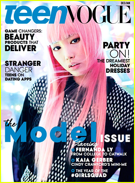 Aussie Model Fernanda Ly Is Teen Vogue's December/January 2015 Cover Girl!