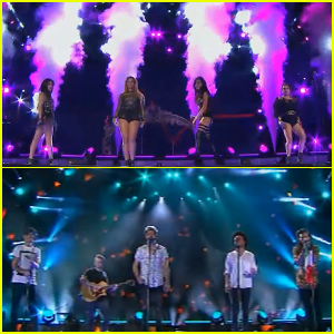 Fifth Harmony & One Direction Take the Stage at Premios Telehit 2015!