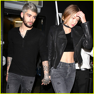 Zayn Malik & Gigi Hadid Hold Hands in N