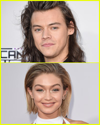 Did Harry Styles Throw Shade at Gigi Hadid on the AMAs Red Carpet?