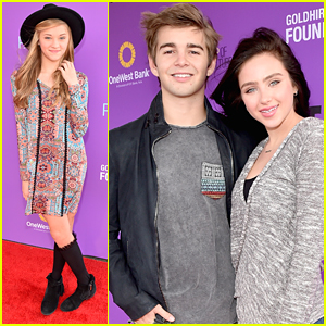Ryan Newman & Jack Griffo Couple Up For P.S. Arts' Express Yourself 2015