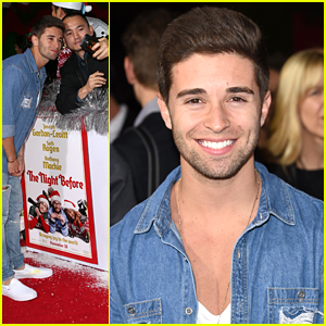 Jake Miller Forgets His Ugly Christmas Sweater For The Night Before