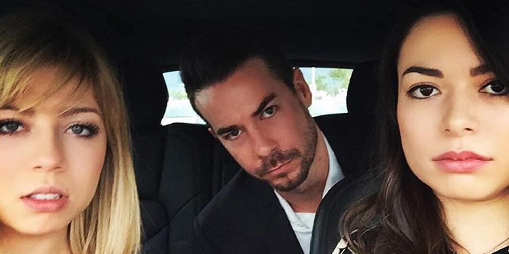 Jennette McCurdy & Miranda Cosgrove Attend Nathan Kress