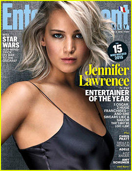 Jennifer Lawrence Named Entertainment Weekly's Entertainer of 2015!