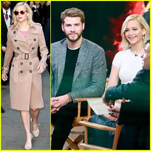 Jennifer Lawrence & 'Mockingjay' Cast Appear on 'GMA' - Watch Now!