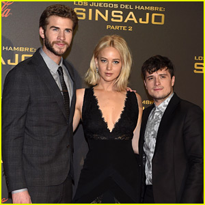 'Hunger Games' Cast Hits the Red Carpet for Madrid Premiere!