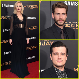 'Hunger Games: Mockingjay - Part 2' Cast Hits the NYC Premiere Red Carpet!