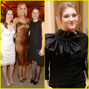 Jennifer Lawrence & Willow Shields Attend 'Hunger Games' Private Dinner In Germany Hosted by Jacqueline Emerson's Dad!