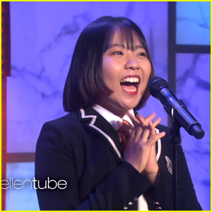 YouTube Star Lydia Lee Performs 'Hello' for Ellen DeGeneres (Video)