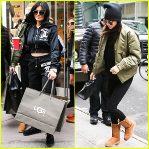 Kylie Jenner Shops in NYC With Kendall Before Flying Back to L.A.