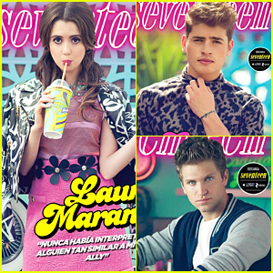Laura Marano, Gregg Sulkin & Keegan Allen Share Their Separate Covers For 'Seventeen Mexico'