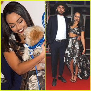 Leigh-Anne Pinnock Makes It A Date Night With Jordan Kiffin at Coats & Collars Ball 2015