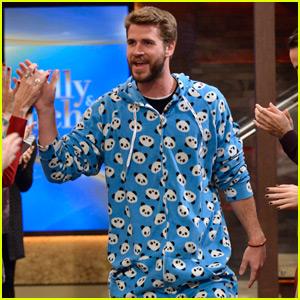 Liam Hemsworth Looks Super Cute In A Panda Onesie Liam Hemsworth