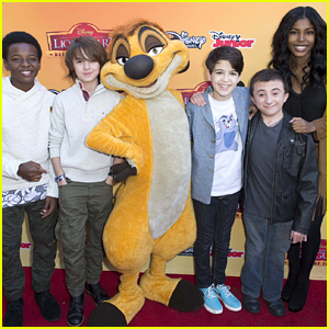 Max Charles, Diamond White & Joshua Rush Premiere 'The Lion Guard: Return Of the Roar'