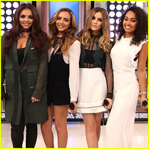 Little Mix Promote 'Get Weird' On 'Good Morning America' - One More Day!