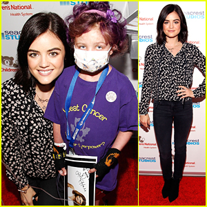 Lucy Hale Supports Seacrest Studios Grand Opening in D.C.!