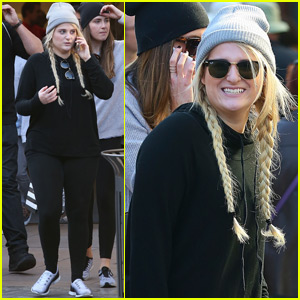 Meghan Trainor Gets Her Christmas Shopping Done Early