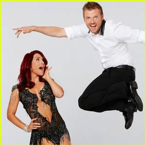Nick Carter & Sharna Burgess Go Contemporary on 'DWTS' - Watch Now!