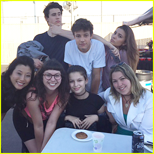 Olivia Stuck Shares 'The Outfield' Photo Diary With JJJ!