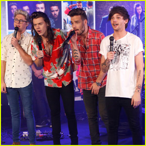 One Direction Performs Four Songs on 'Good Morning America' - Watch Now!