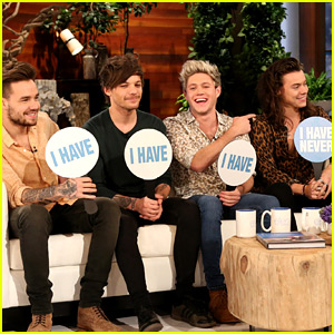 One Direction Plays 'Never Have I Ever' with Ellen DeGeneres - Watch Now!