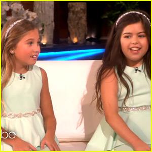 Sophia Grace & Rosie Are Back - Watch Their New 'Ellen' Interview!