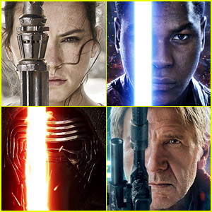 John Boyega & Daisy Ridley Featured on New 'Star Wars' Posters!