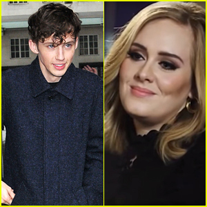 Adele 'Burst Into Tears' After Hearing Troye Sivan Cover One of her Songs