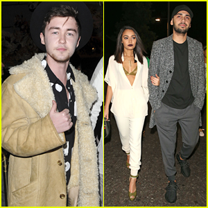 Jake Roche, Jordan Kiffin & The Vamps Support Little Mix At 'Get Weird' Album Launch